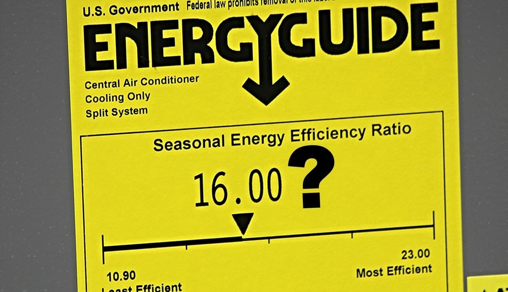 EnergyGuide SEER Ratings, Port Orange AC Repair